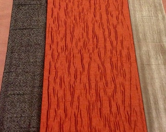 Popular items for orange curtains on Etsy