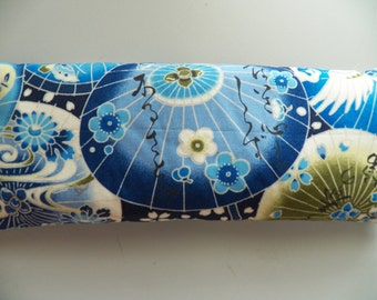 Eye Pillow - Blue Chinese Parasols