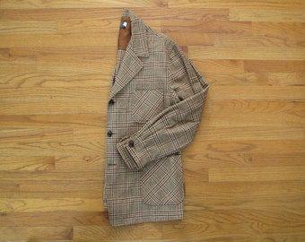 mens vintage Pendleton plaid 49'er jacket