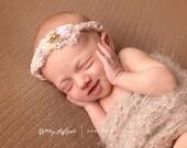 Newborn Photo Prop Photography Blanket Baby Photo Prop Children Beige
