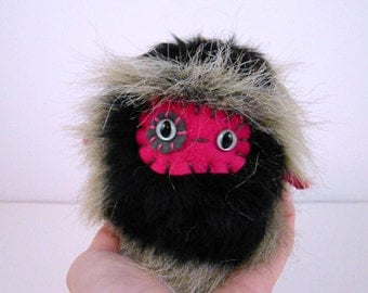 Sale - Monster Stuffed Animal - One of a Kind Plush Toy