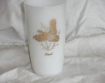 Vintage Milk Glass Highball Glass