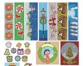 Christmas Beading Patterns - Brick Stitch - Beading Patterns - Peyote