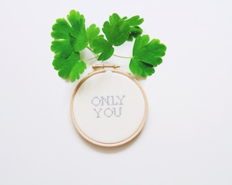 Only You Embroidery