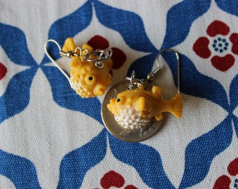 Pufferfish Earrings