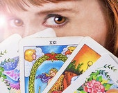 Floral Tarot Perfume with Personalized Reading