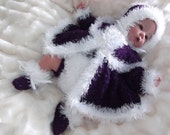 Knitting pattern for 18-22 reborn dolls or 0-3 month baby