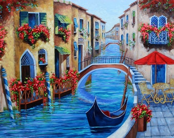 Original Oil Painting, Custom Art, Made to Order, Original Oil Painting of your Photograph, Memory, Vacation, Family, Rebecca Beal Fine Art