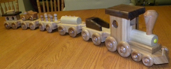 Large Wooden Cho-Cho Train