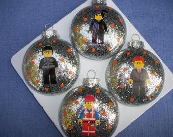 Ornaments - Legos Inspired