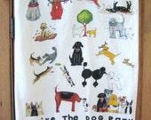 I Like the Dog Park Kitchen Towel