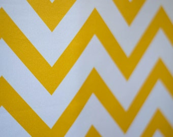5 feet x 6 feet Sunshine Yellow Chevron Fabric Photography Backdrop