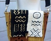 Mini Messenger Mud Cloth Bag