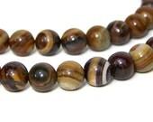 JUPITER JASPER beads, 8mm round natural gemstone, full & half bead strands available  (567S)