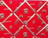 Allover Ohio State University OSU College Photo Memory Board