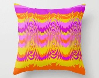 Groovy Outdoor Pillow, Modern Outdoor Pillow, Mod Outdoor Cushion, Outdoor Pillow, Mid Century Modern Outdoor Pillow, Outdoor Throw Pillow
