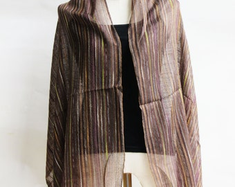 SC1, V Northern Tribe Brown Cotton Scarf