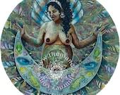 "Sticker - ""Yemaya"" Mandala"