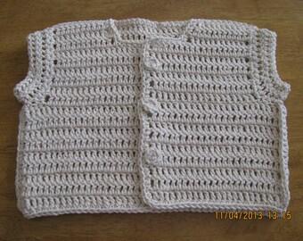Toddler sweater/vest - boy or girl - 2t - 4t