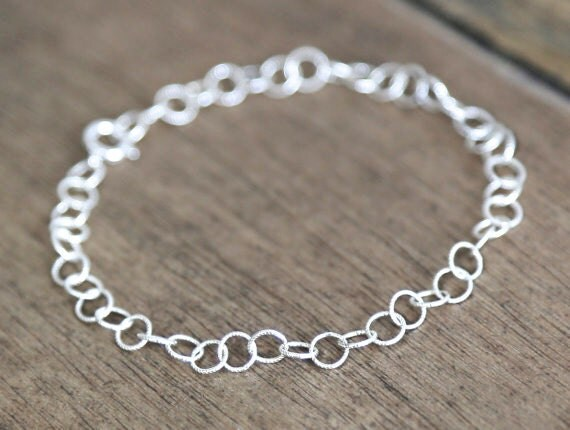Angelic - Sterling Silver Ring Bracelet