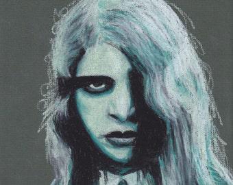 Portrait of Zombie from Night of the Living Dead