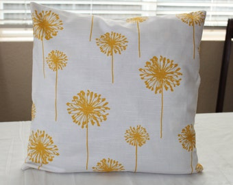 Decorative Pillow Cover Pillow shams Choose your size Premier Prints white yellow.