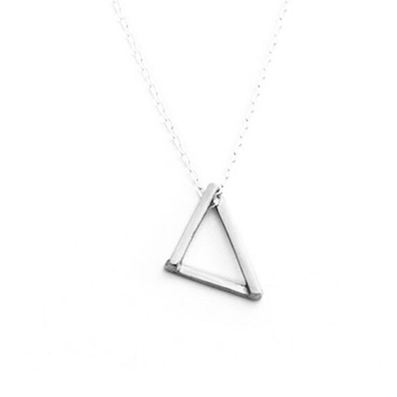 The Right Triangle - Silver