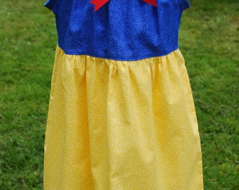 Simple and Sweet Snow White Sundress