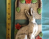Rabbit Ceramic High Relief Tile