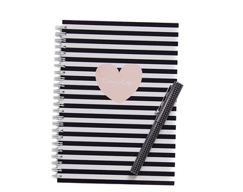Personalized Notebook - Heart