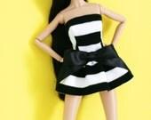 Lipstick Mini Dress For 12inch Girl Doll