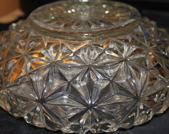 Reduced- Vintage Cut Crystal Light Covers