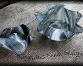 Handmade Bowl Set Fused Glass