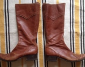 Vintage Franco Barbieri Made In Italy Eyelet Boots 8