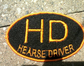 Hearse Driver Patch