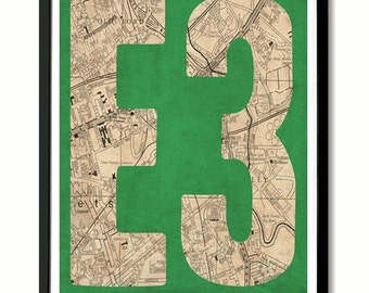 E3, Bow, Mile End, Old Ford East London Art Print