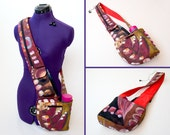 Cross-Body Hipster Bag with Water and Phone pockets sewing pattern
