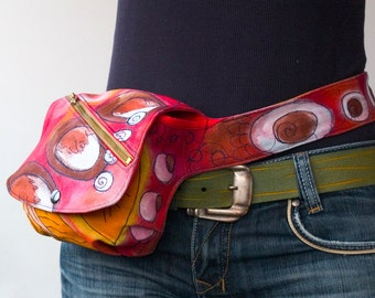 Hands free Bag or Belt Tote sewing pattern
