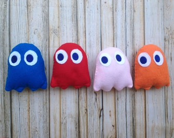 Pac Man Ghost Inspired Plush Set