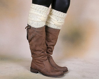 how to make lace knit socks leggings boot liners