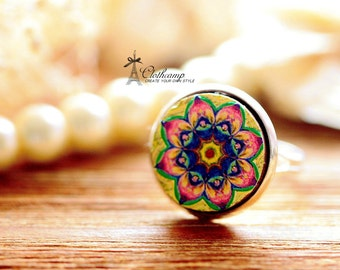 20% off -Unique 3D Embossed 16mm Round Handmade Wood Cut Cabochon to make Rings, Earrings, Bobby pin,Necklaces, Bracelets-(WG-10)