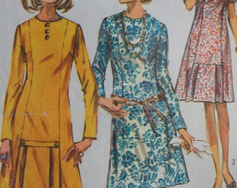 Vintage Dress Pattern Simplicity 9038 Size 40