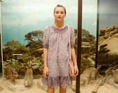 FINAL SALE- Summer floral chiffon dress