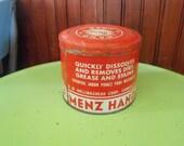 Vintage R.M. Hollingshead Corp Menz Hand Soap Tin RARE