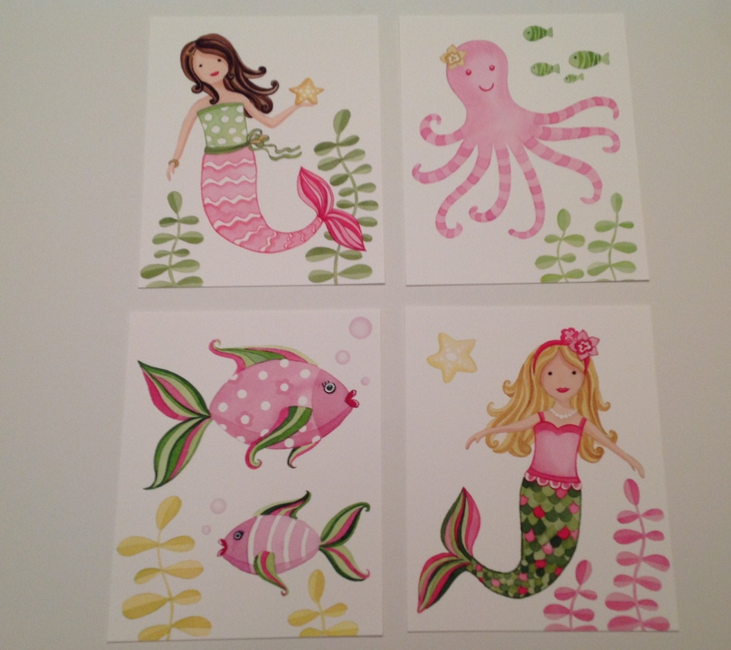 Mermaid bathroom decor for kids -  Zoom