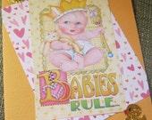 Babies Rule... Congratulations Card