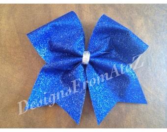 Royal Sparkle Cheer Bow