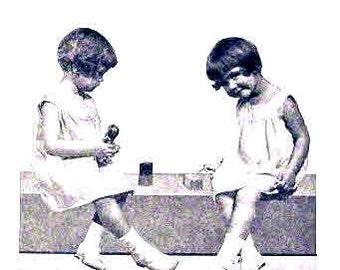 Vintage 1930s Dresses for Little Girls Clarice Louisba Scott USDA Leaflet 80