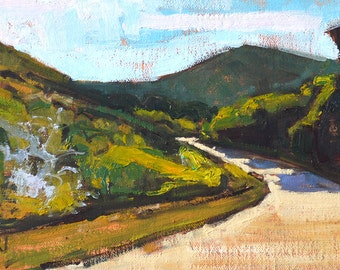 Laguna Canyon, California landscape painting