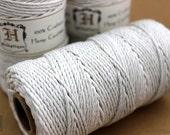 2mm White Hemp Cord, 48lb Hemp Twine, Macrame Supplies